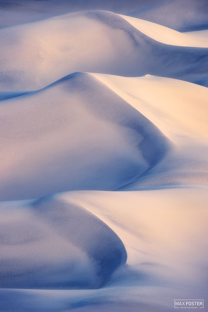 Mesquite Flat Sand Dunes, Death Valley National Park, California, Magic Carpet