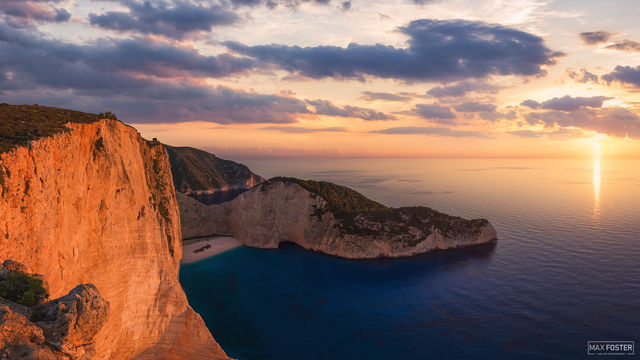 Shipwreck Beach, Zakynthos, Greece, Paradise Found