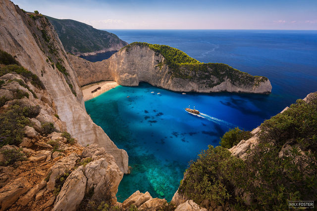 Shipwreck Beach, Zakynthos, Greece, Navagio Beach, Ionian Islands, Smugglers Cove
