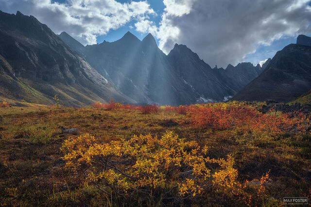 Arrigetch Peaks Wilderness, Gates of the Arctic National Park, Alaska, Stairway to Heaven