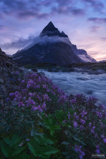 Greenland, Southern Greenland, Peak, The Wizard's Spell, Mountain