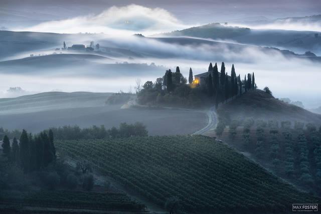 Val d'Orcia, Tuscany, Italy, Unfolding Beauty, Agritourism, farm