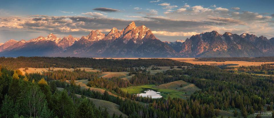 Grand Teton National Park, Wyoming, Jackson Hole, A Grand Morning