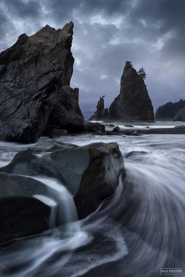 Rialto Beach, Olympic National Park, Washington, Awaken, Pacific Ocean, Quillayute River