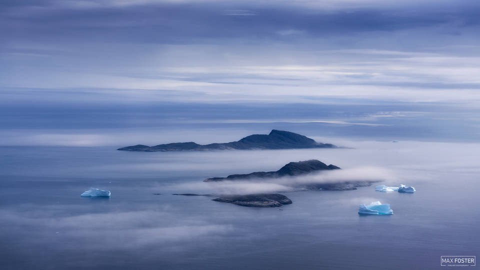 Southern Greenland, Ethereal, Celestial