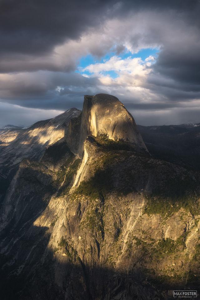 Yosemite National Park, California, Phantom, Half Dome, Granite Dome, Yosemite Valley
