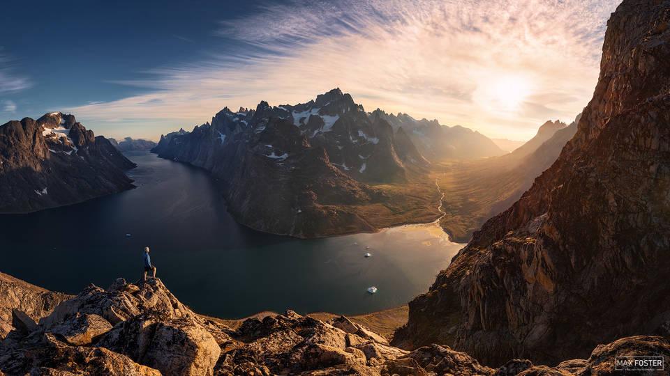 Southern Greenland, Pinnacle, Mountain