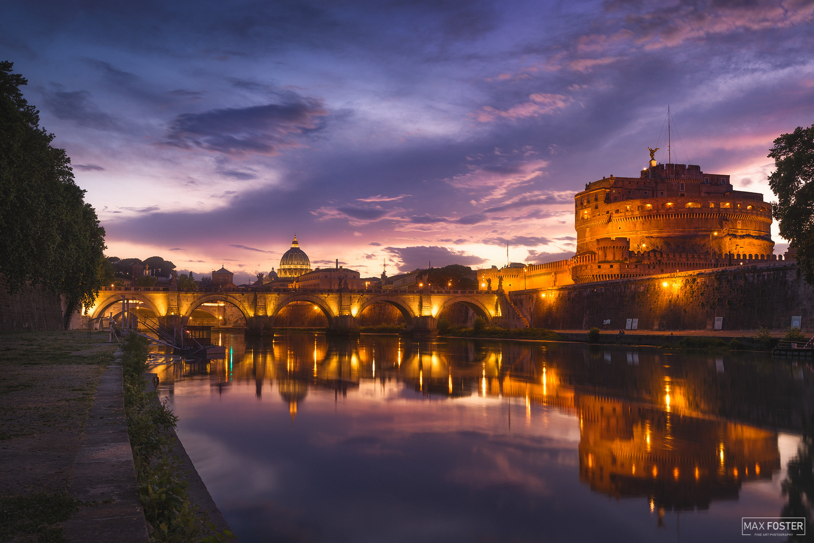 Castel Sant'Angelo, Rome, Italy, Mausoleum of Hadrian, fortress, castle, Angels & Demons, photo