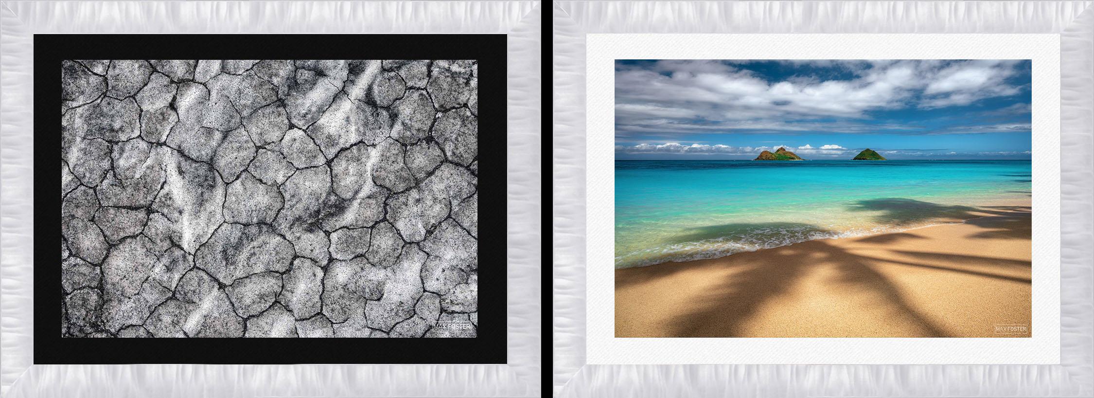Arber Satin White Frame by Roma Moulding