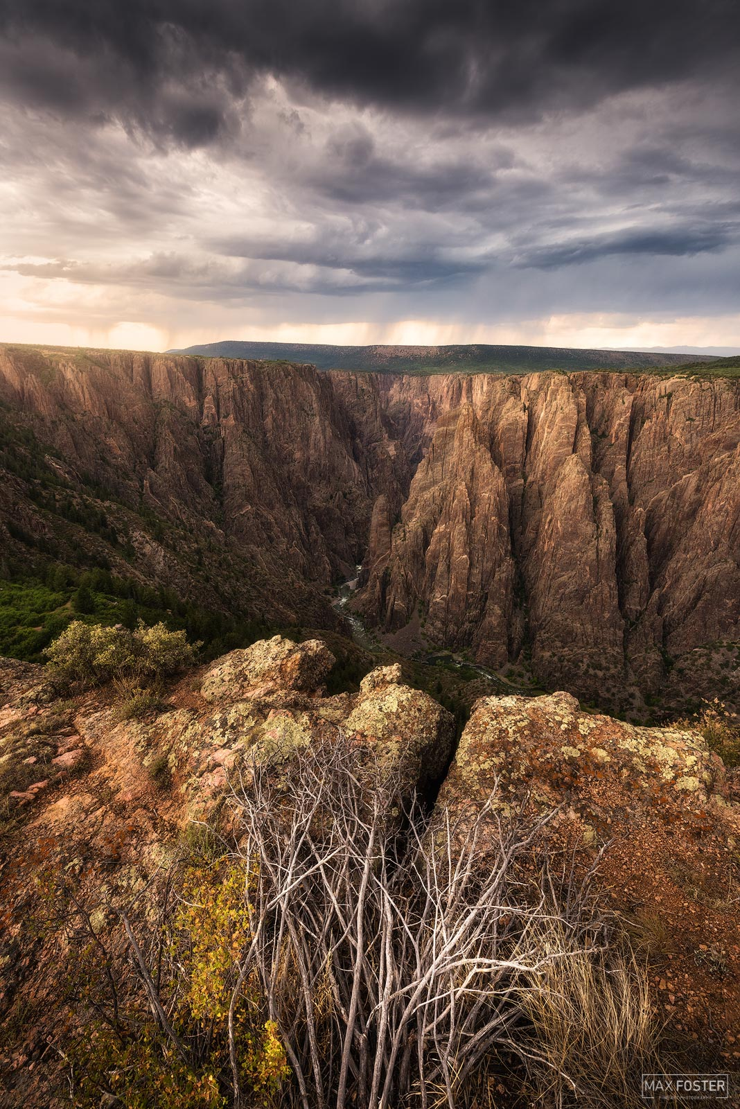 Black Canyon of the Gunnison National Park, Colorado, photo