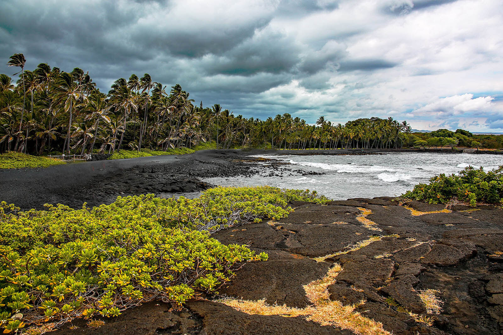 Punaluʻu Beach by Rennett Stowe from USA is licensed under CC BY 2.0