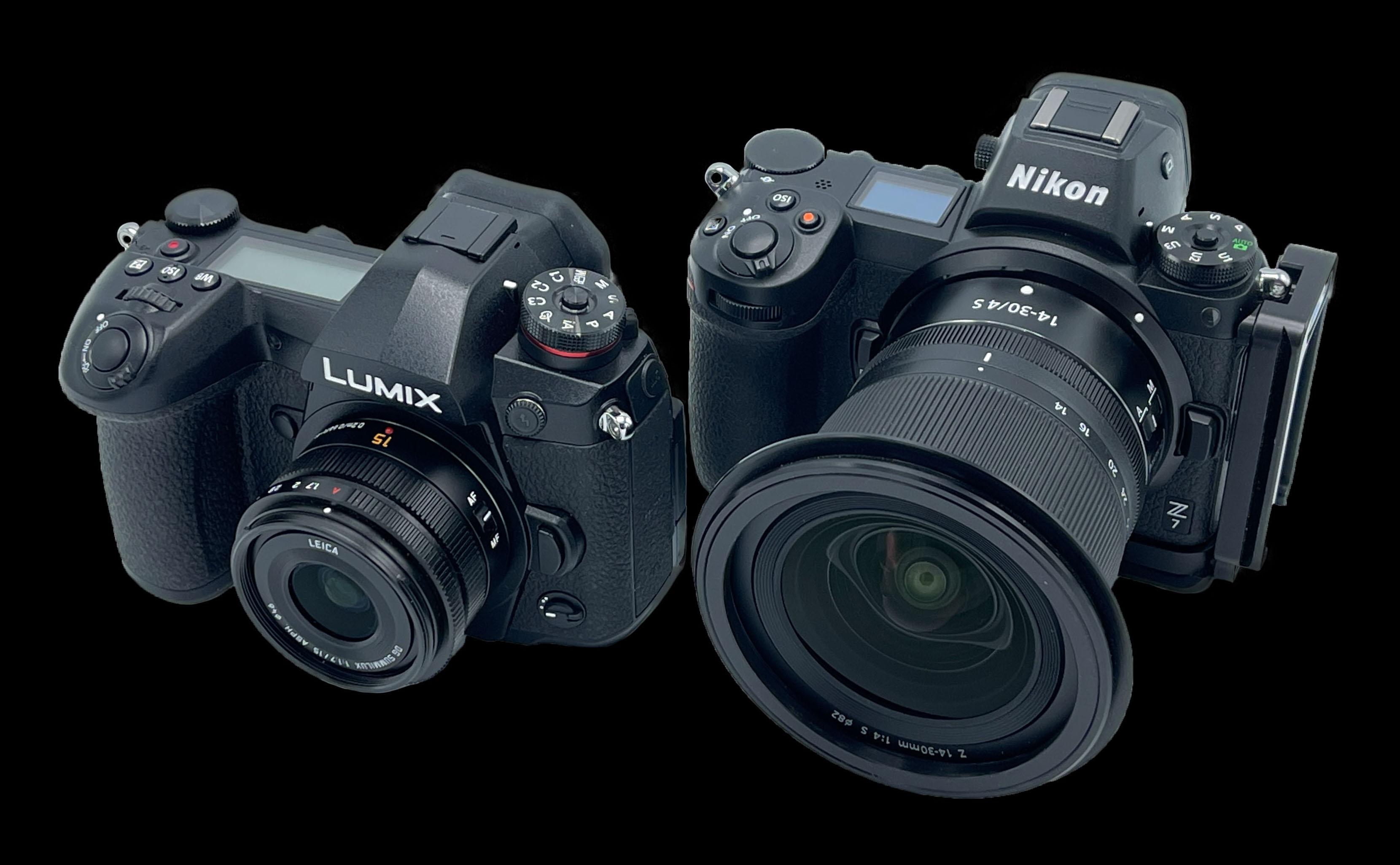 Panasonic Lumix G9 Crop Sensor Camera Vs. Nikon Z7 Full Frame Camera