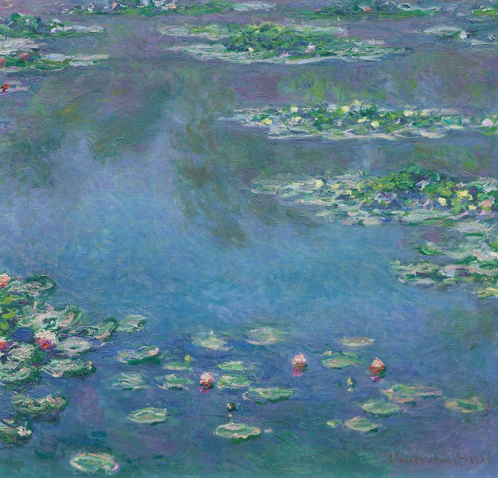 Claude Monet, Water Lilies, 1906, The Art Institute of Chicago