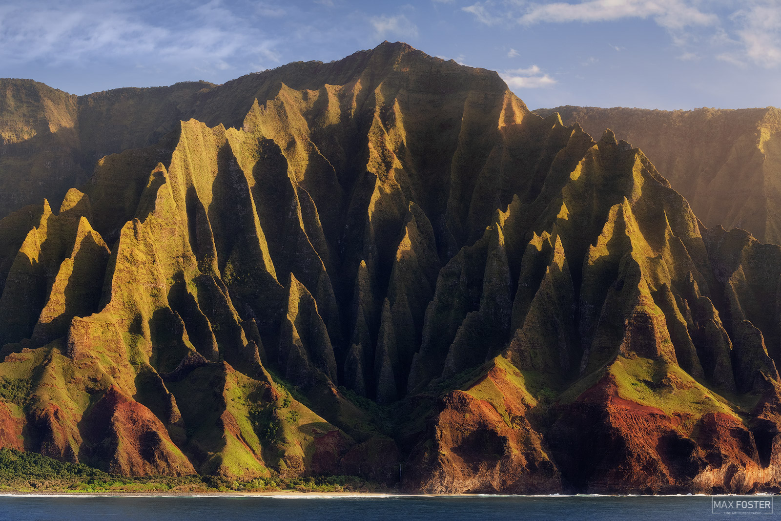 Fine Art Limited Edition of 50 The Nā Pali Coast State Park is a 6,175 acres Hawaiian state park located in the center of the...