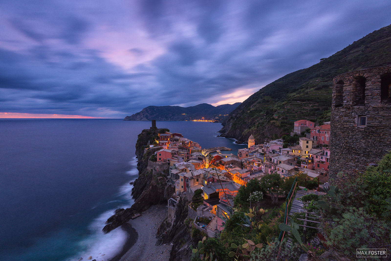 Fine Art Limited Edition of 50 Vernazza is a town and comune located in the province of La Spezia, Liguria, northwestern Italy...