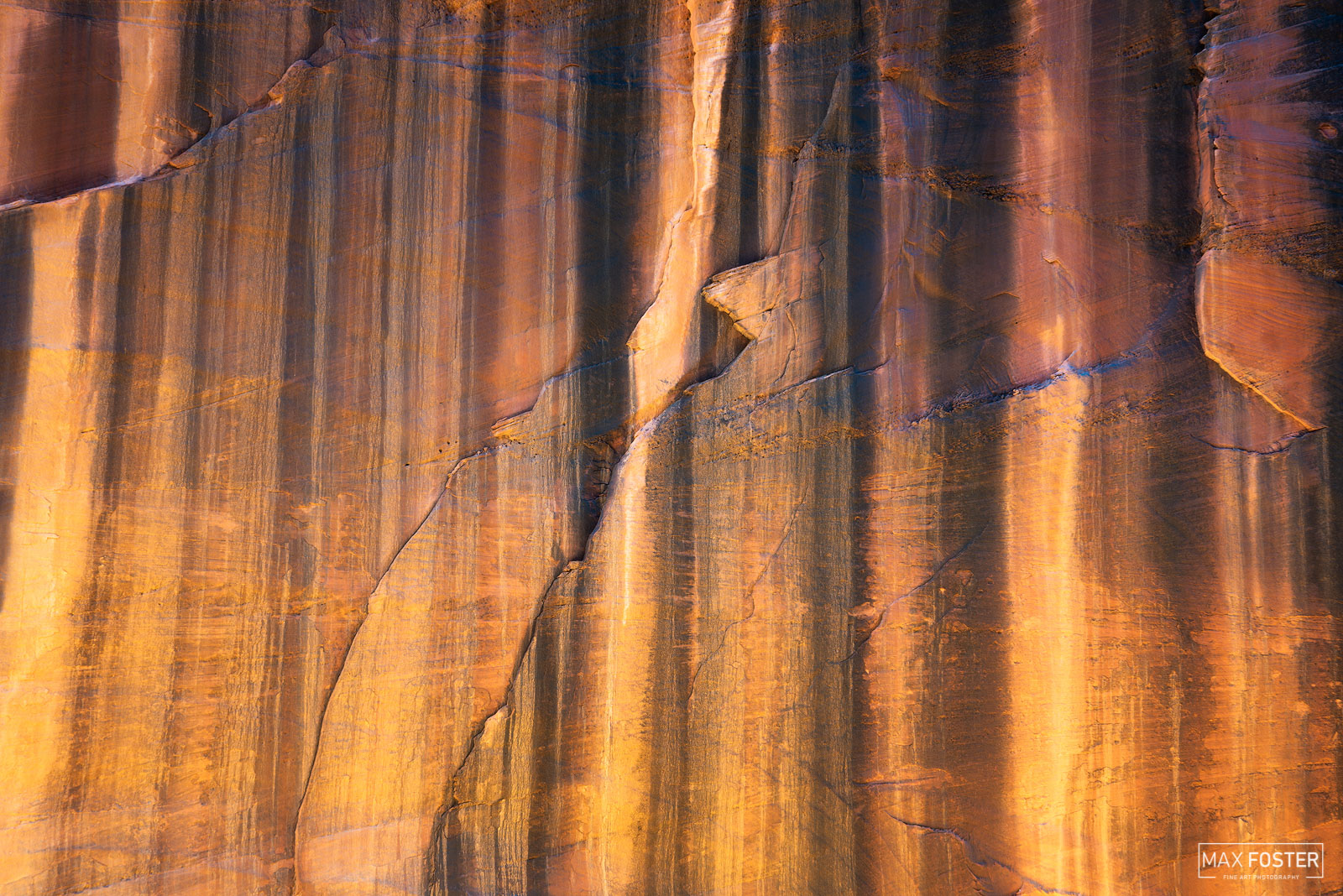 Fine Art Limited Edition of 50 The Buckskin Gulch, a canyon in southern Utah, is one of the main tributaries of the Paria River...