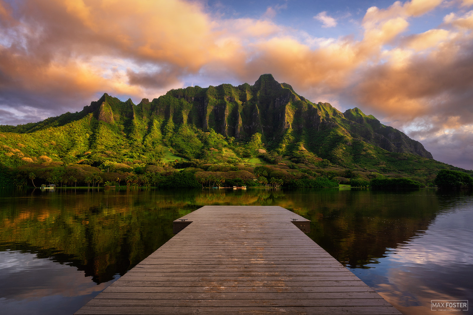 "Fine Art Limited Edition of 100 Oahu, known as ""The Gathering Place"", is the third-largest of the Hawaiian Islands. It is home..."