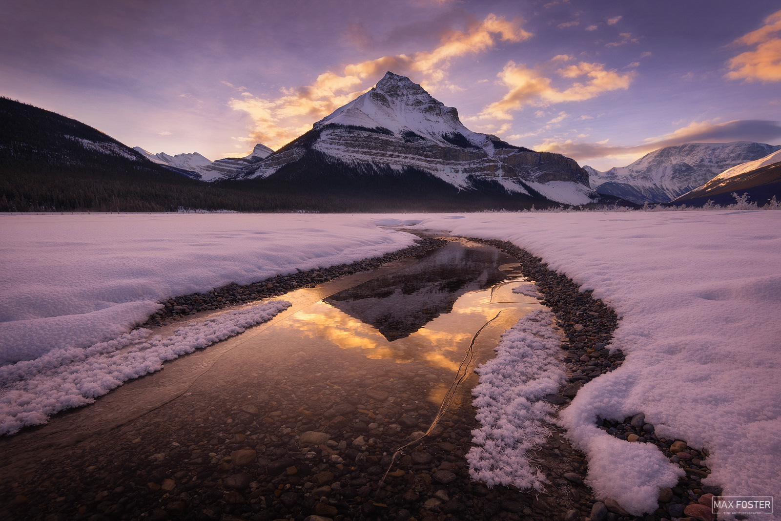 Tangle Peak, Jasper National Park, Canada, Canadian Rockies, Mountains, photo