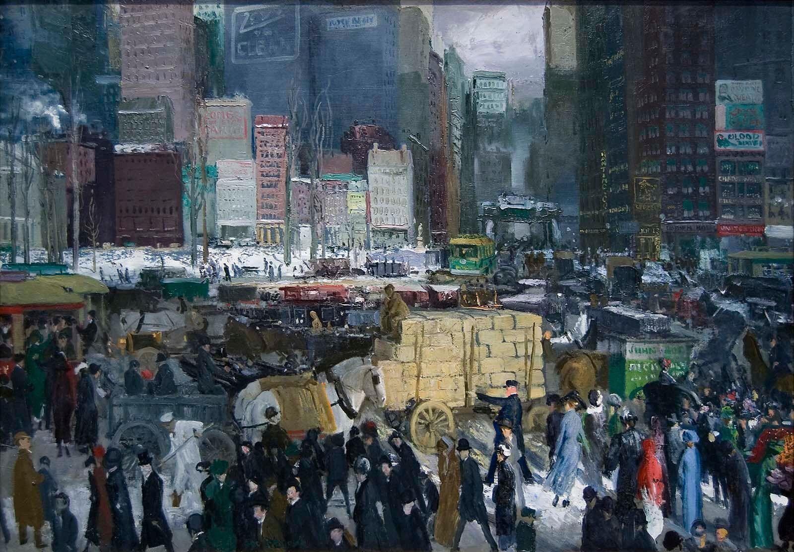 George Bellows, New York, 1911, National Gallery of Art