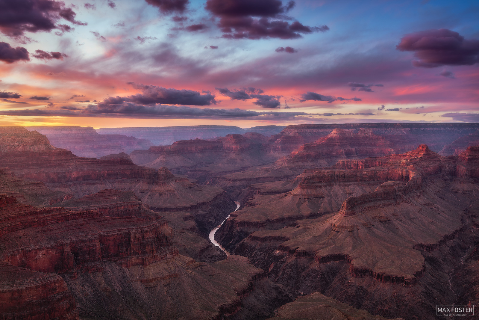 Pima Point, Grand Canyon National Park, Arizona, Halcyon Skies, photo