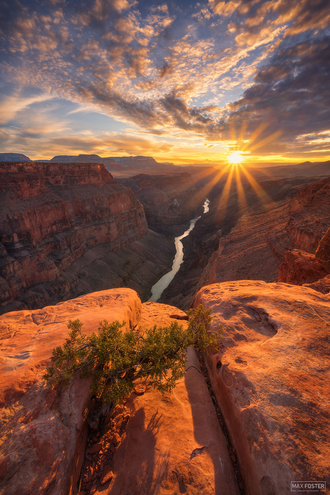Heading West, Toroweap Overlook, Grand Canyon. Photo © copyright by Max Foster