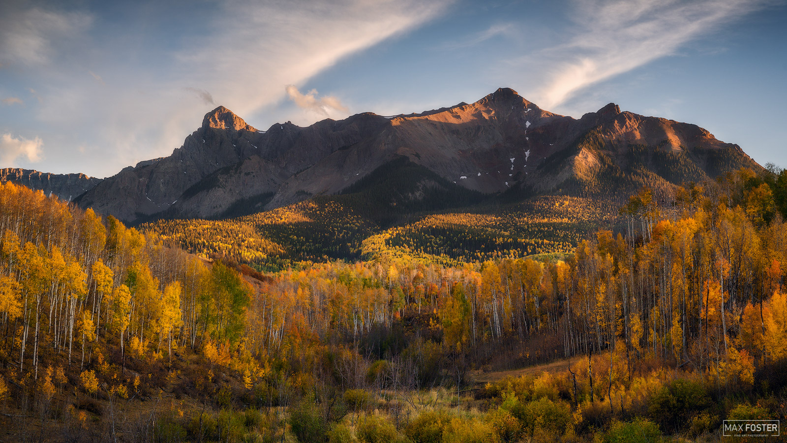 Ridgway, Colorado, In Living Color, San Juan Mountains, Mountains, Mountain, Aspen Trees, photo