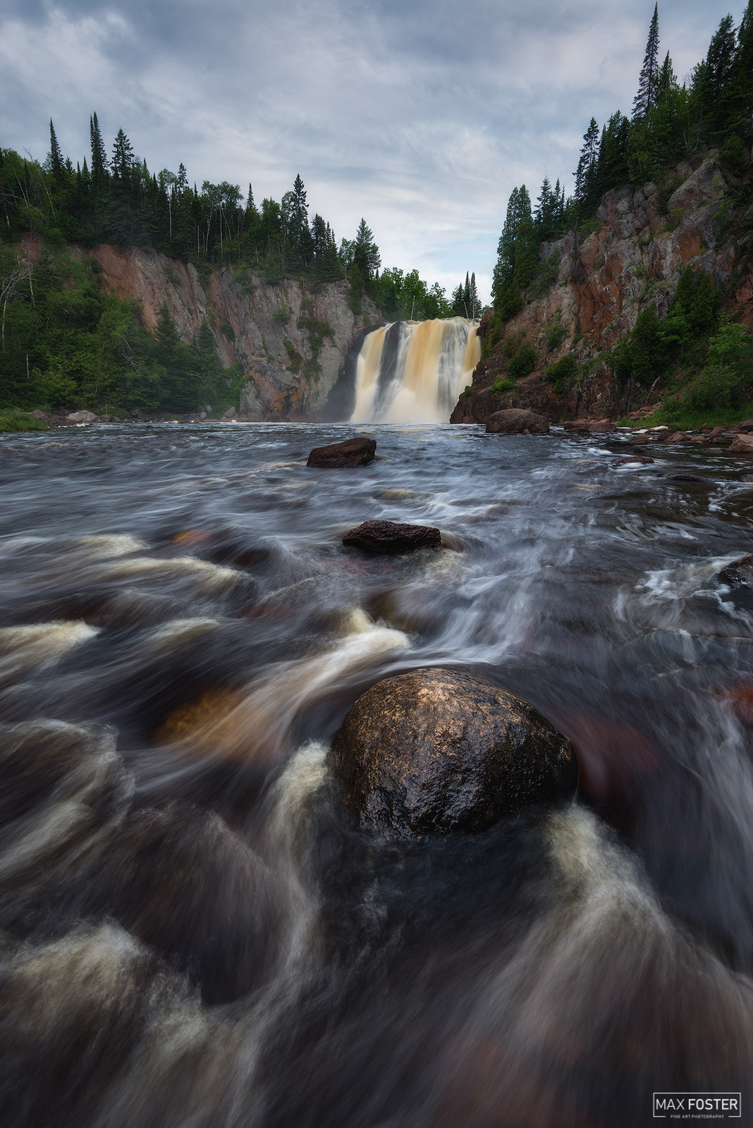 Minnesota, Tettegouche State Park, Baptism River, High Falls, Lake Superior, Duluth, Iron Works, North Shore, Superior Hiking Trail, , photo