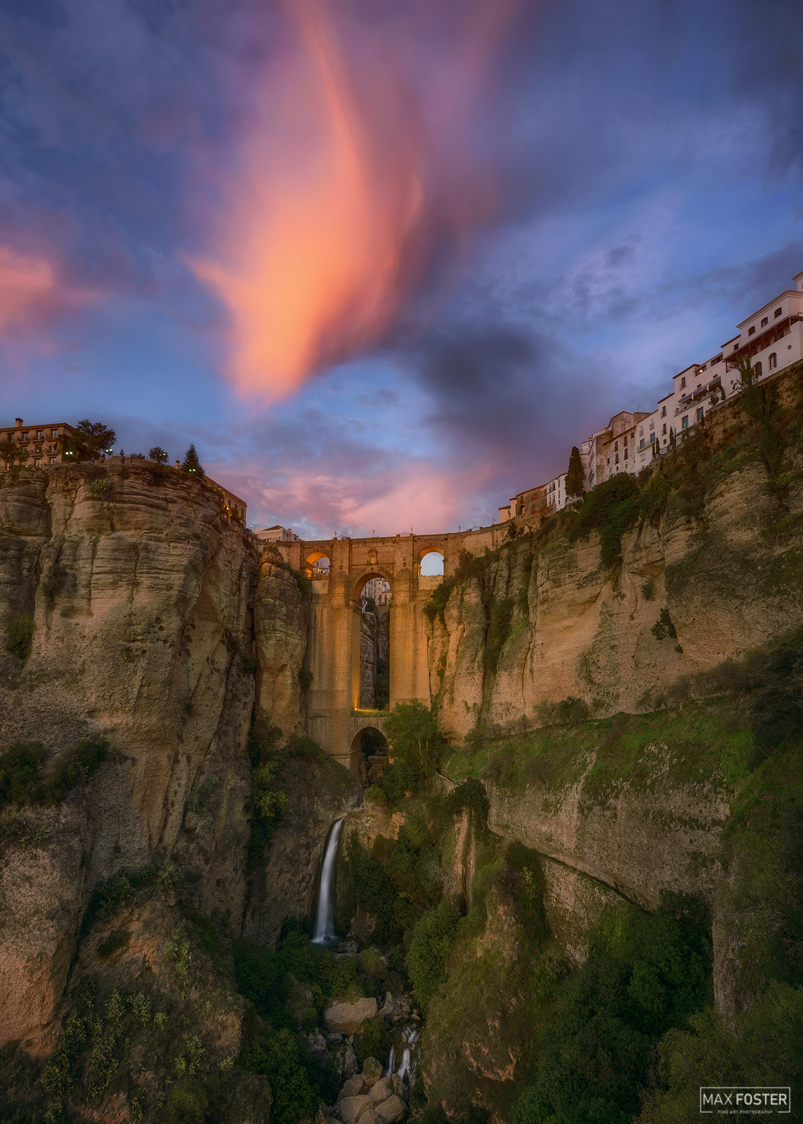 Spain, Legend of Ronda, Malaga, Andalusia, El Tajo Canyon, Puente Nuevo, photo