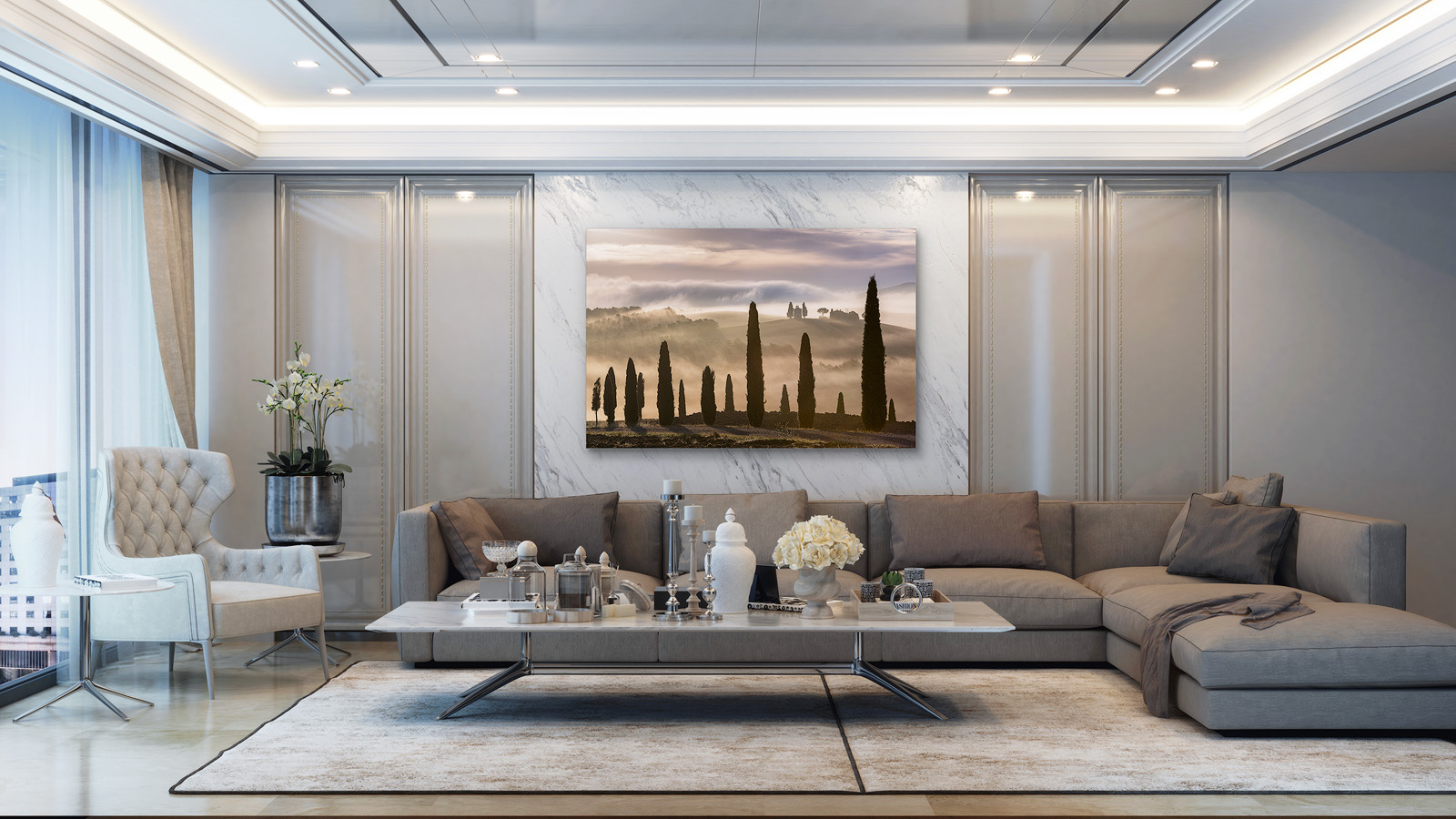 Envision Fine Art in Your Home, Office or Private Gallery