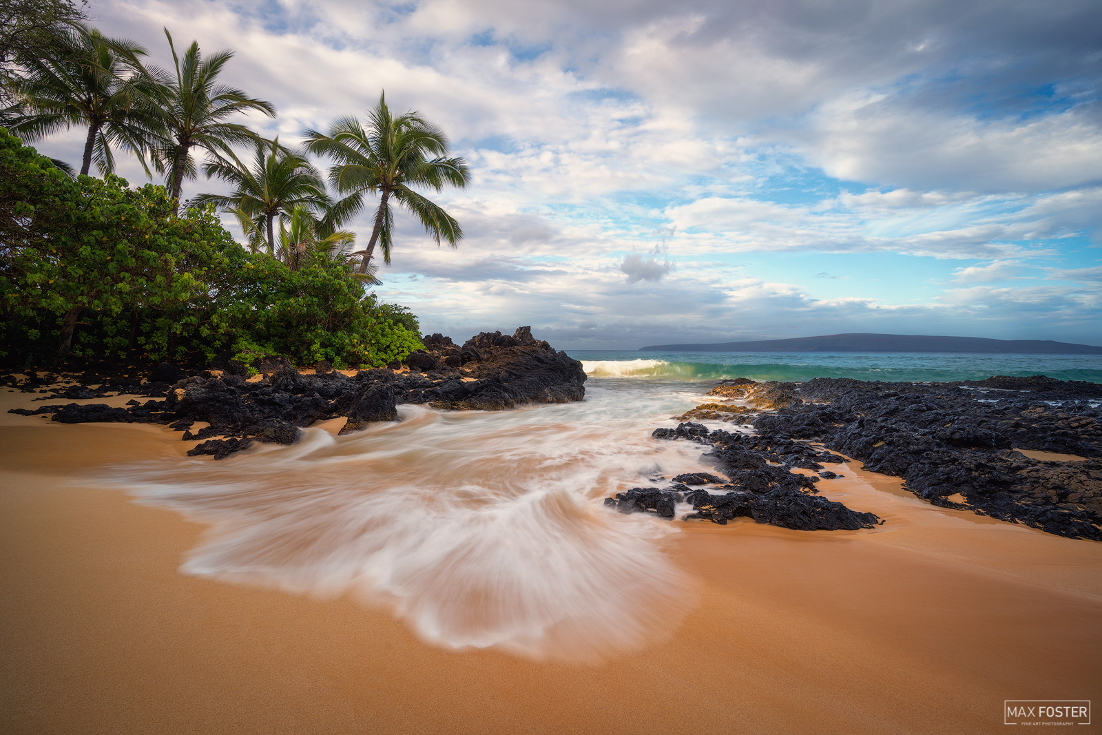 Fine Art Limited Edition of 50 Pa'ako Beach Cove (also called Secret Cove or Secret Beach) is a gorgeous little protected cove...