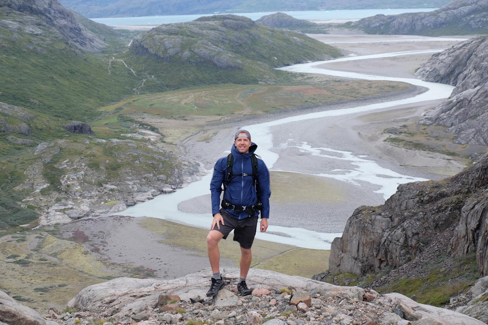 Max Foster in Narsarsuaq Greenland