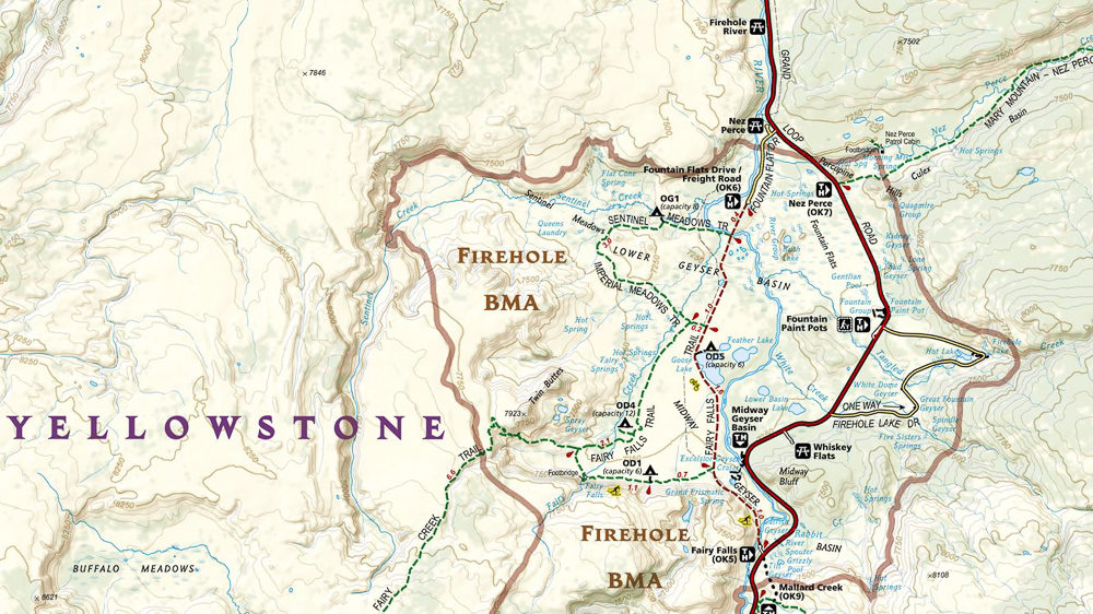 NatGeo Trails Illustrated Map