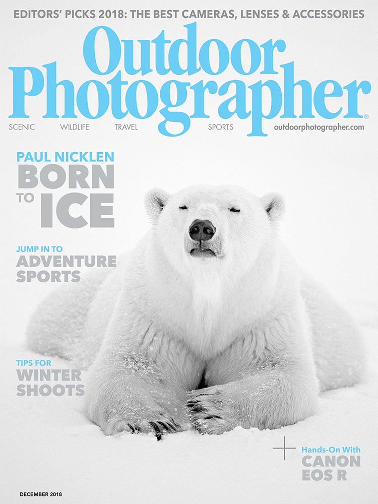 Outdoor Photographer Magazine | December 2018 Prints Available A Brief Appearance by Max Foster The image was taken in southern...