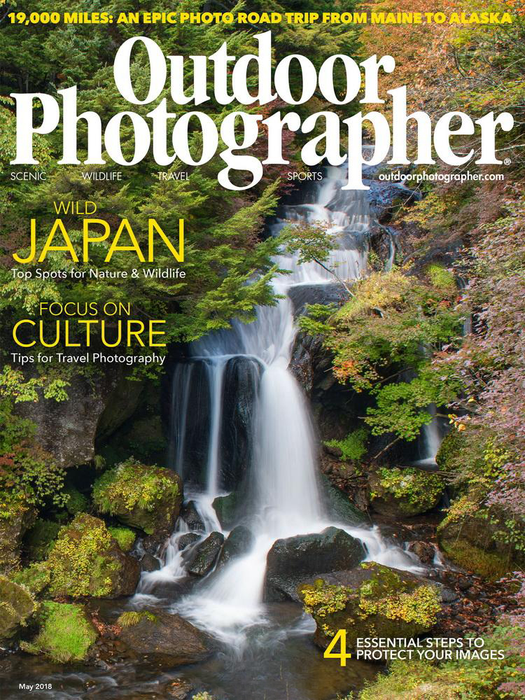 Outdoor Photographer Magazine, May 2018, Tuscan Dream, photo