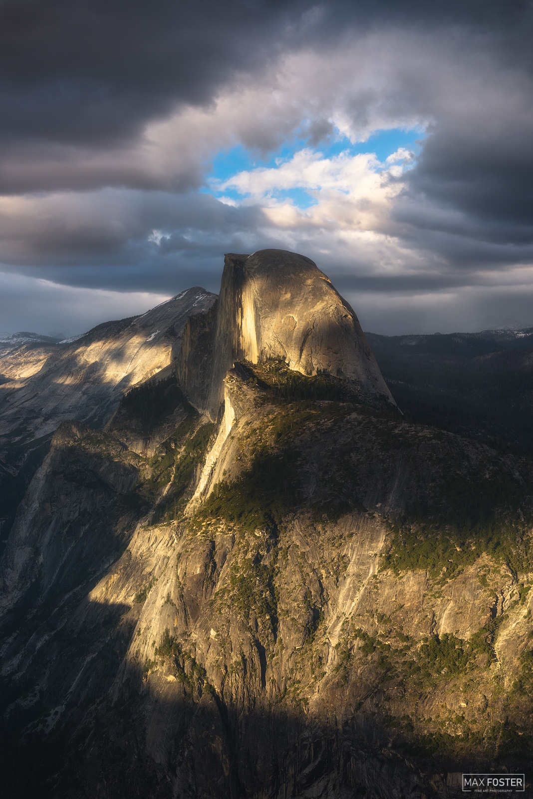 Yosemite National Park, California, Phantom, Half Dome, Granite Dome, Yosemite Valley, photo