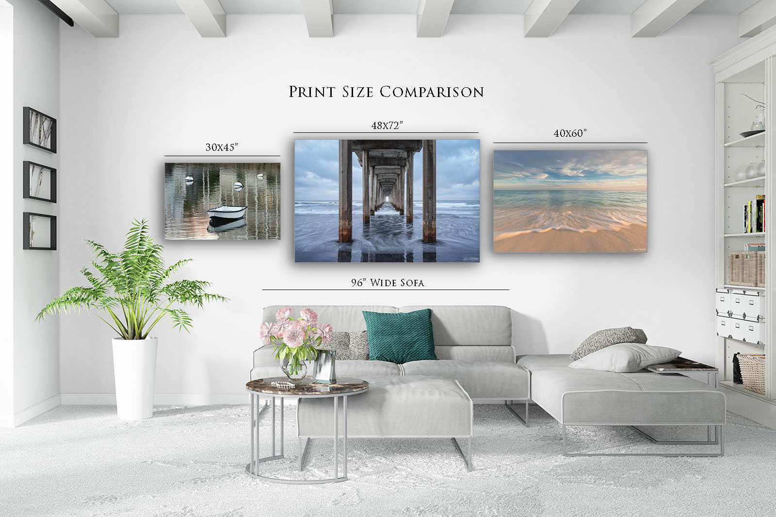 Wall Art Size Calculator for Fine Art Photography