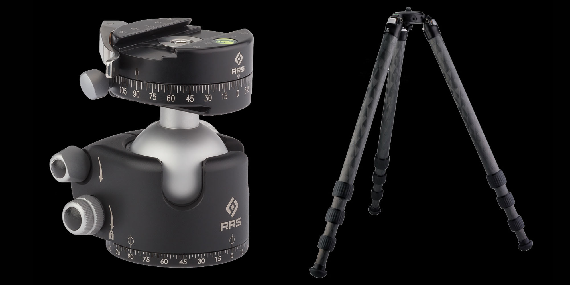 Really Right Stuff BH-55 Ball Head and Really Right Stuff TVC-34L Carbon Fiber Tripod
