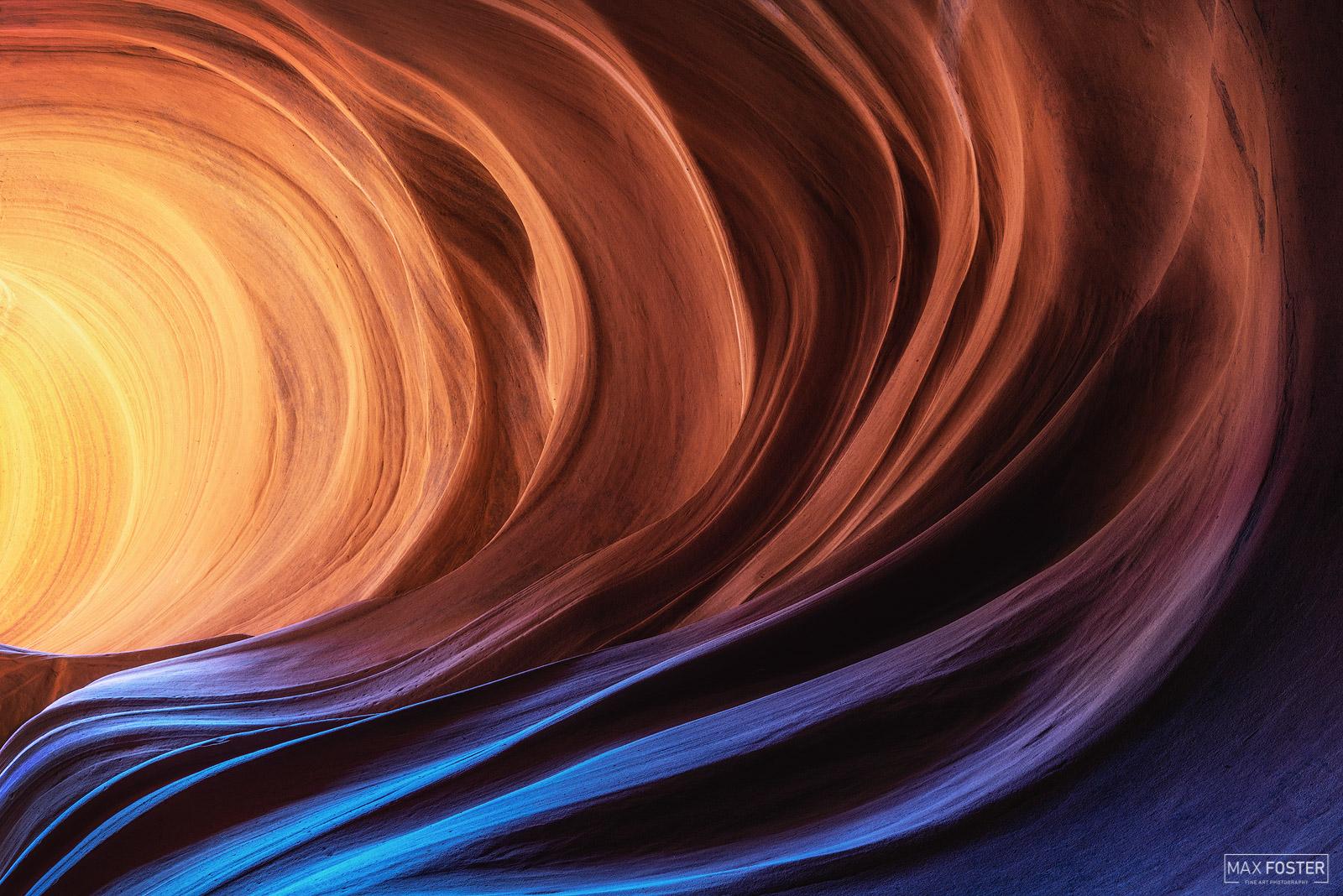Page, Arizona, Slot Canyon, American Southwest, Radiant Swirl,, photo