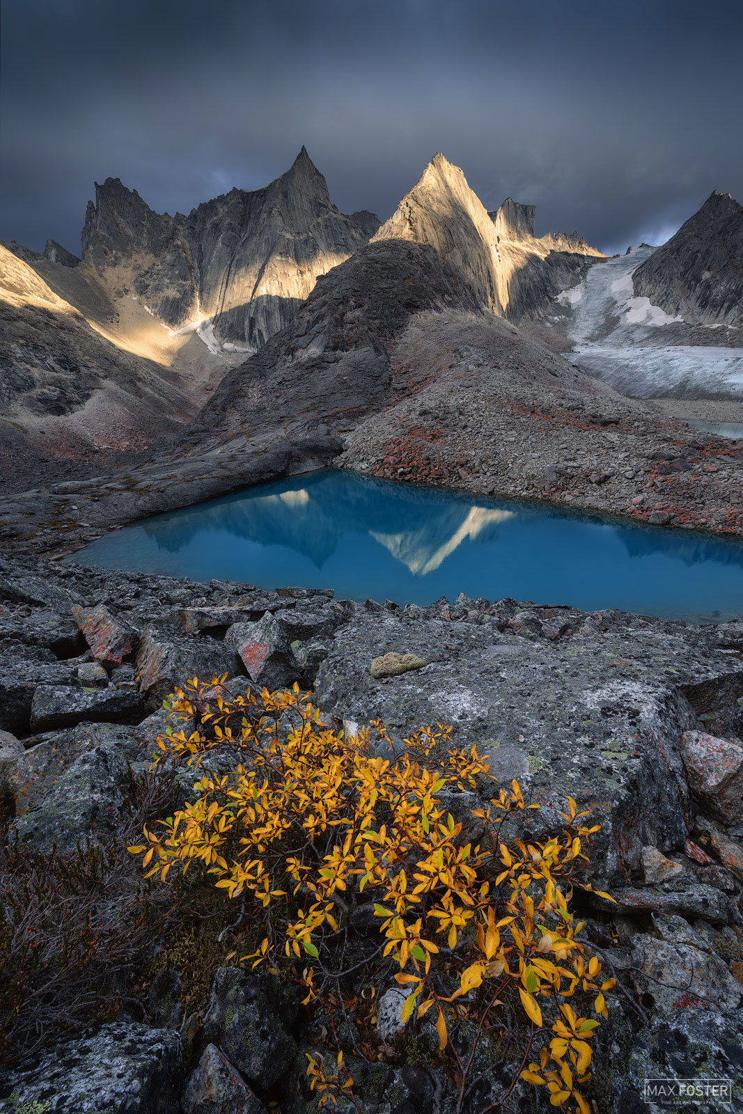 Fine Art Limited Edition of 50 The Arrigetch Peaks are a cluster of rugged granite spires in the Endicott Mountains of the central...