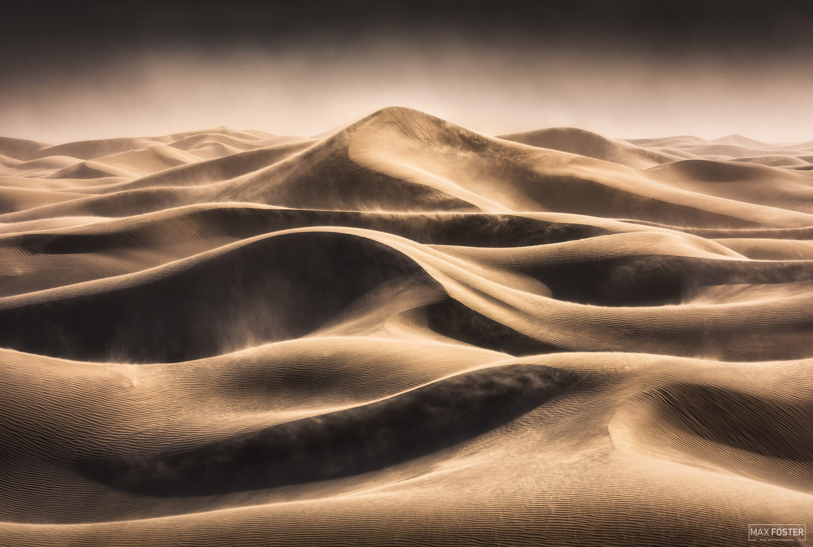 Mesquite Flat Sand Dunes, Death Valley National Park, California, Wind, Relentless, photo