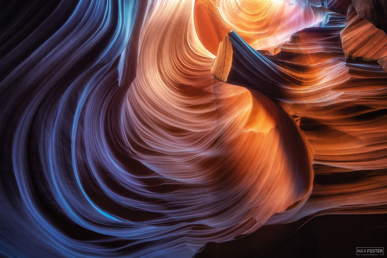 Page, Arizona, Slot Canyon, Scultped, Sandstone, photo