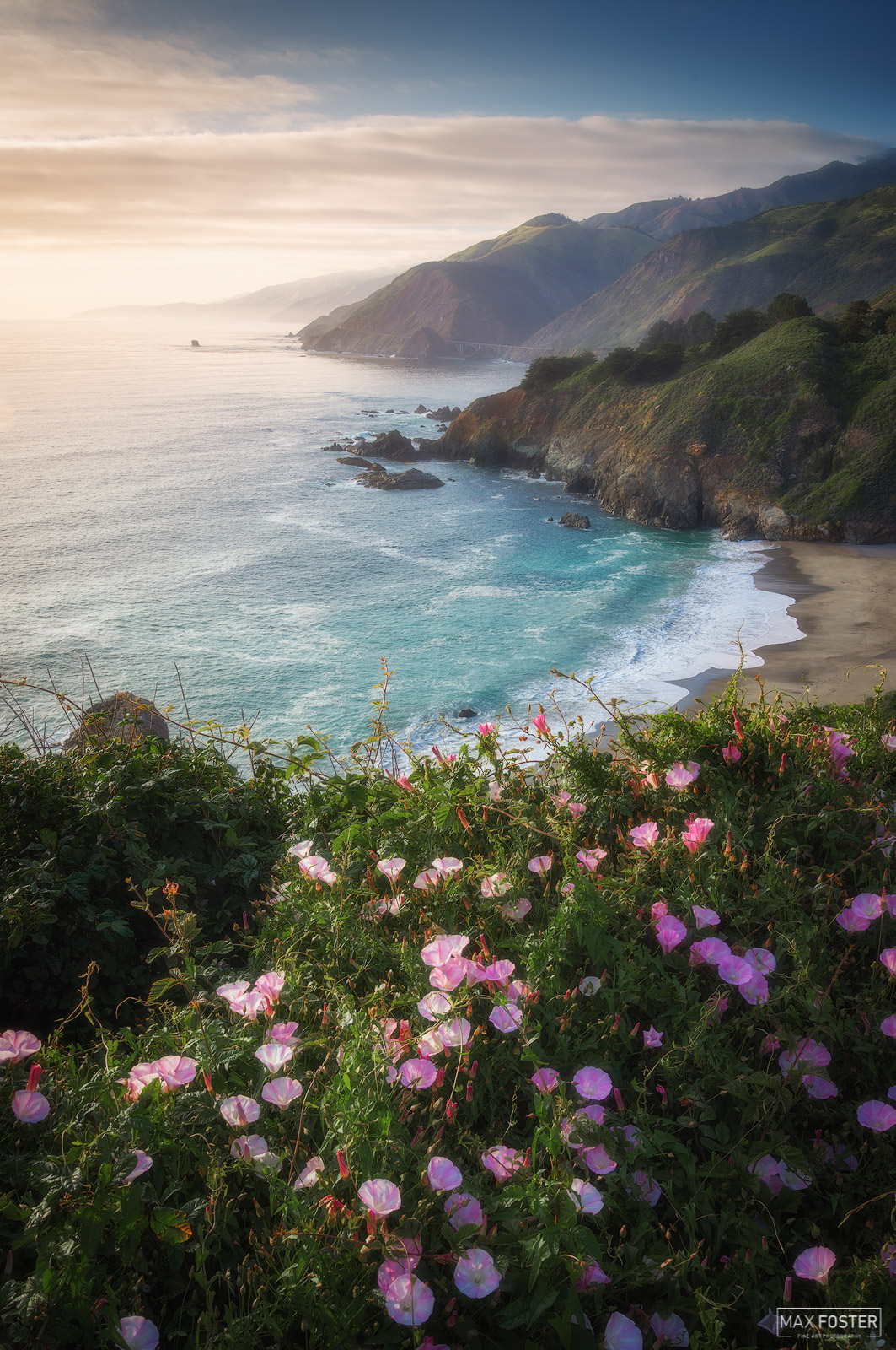 Big Sur, California, Seaside Melody, Pacific Ocean, PCH, Pacific Coast Highway, Santa Lucia Mountains, photo