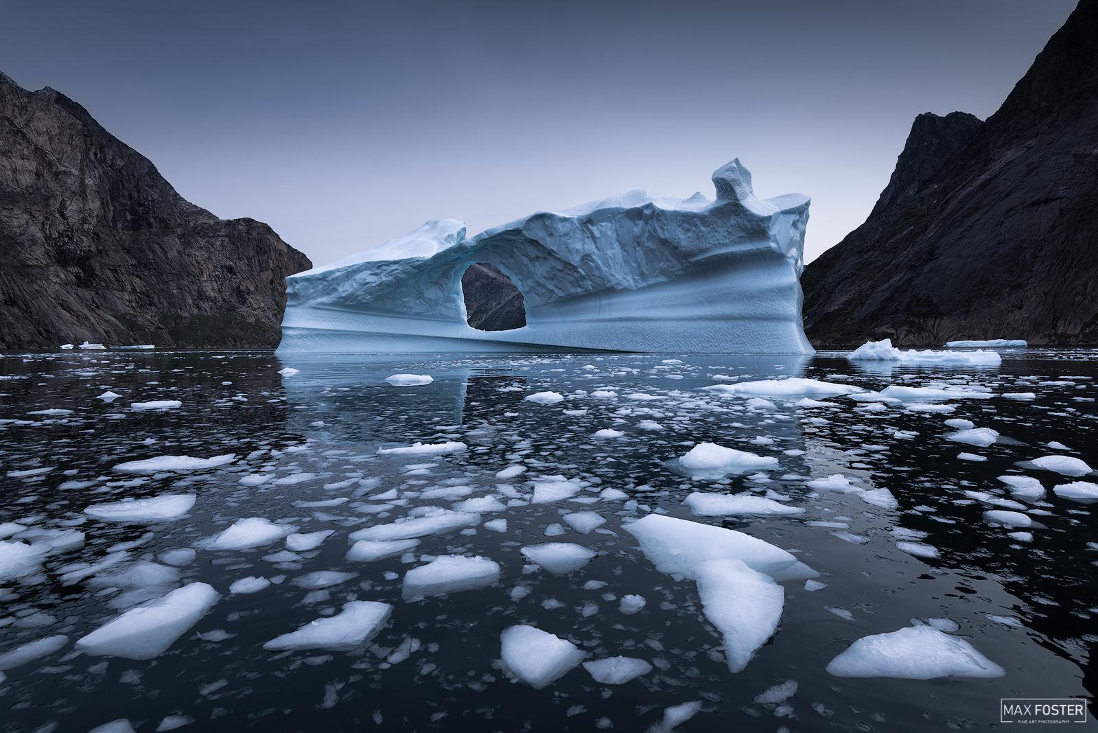 Greenland, Southern Greenland, Shattered, Glacier, Iceberg, Ice Calving, photo