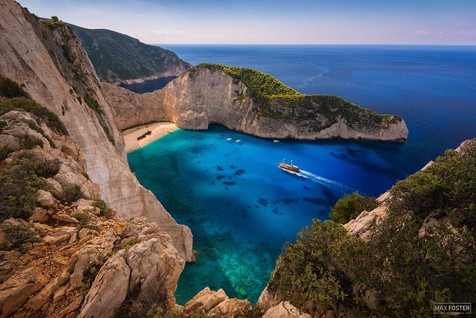 Shipwreck Beach, Zakynthos, Greece, Navagio Beach, Ionian Islands, Smugglers Cove, photo
