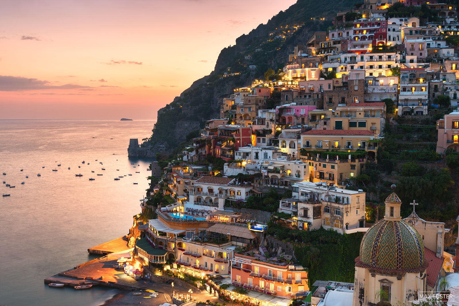 Amalfi Coast, Italy, Sparkling Positano, Village, Campania, Resort, Holiday, Villa, Hills, Positano Skyline, photo