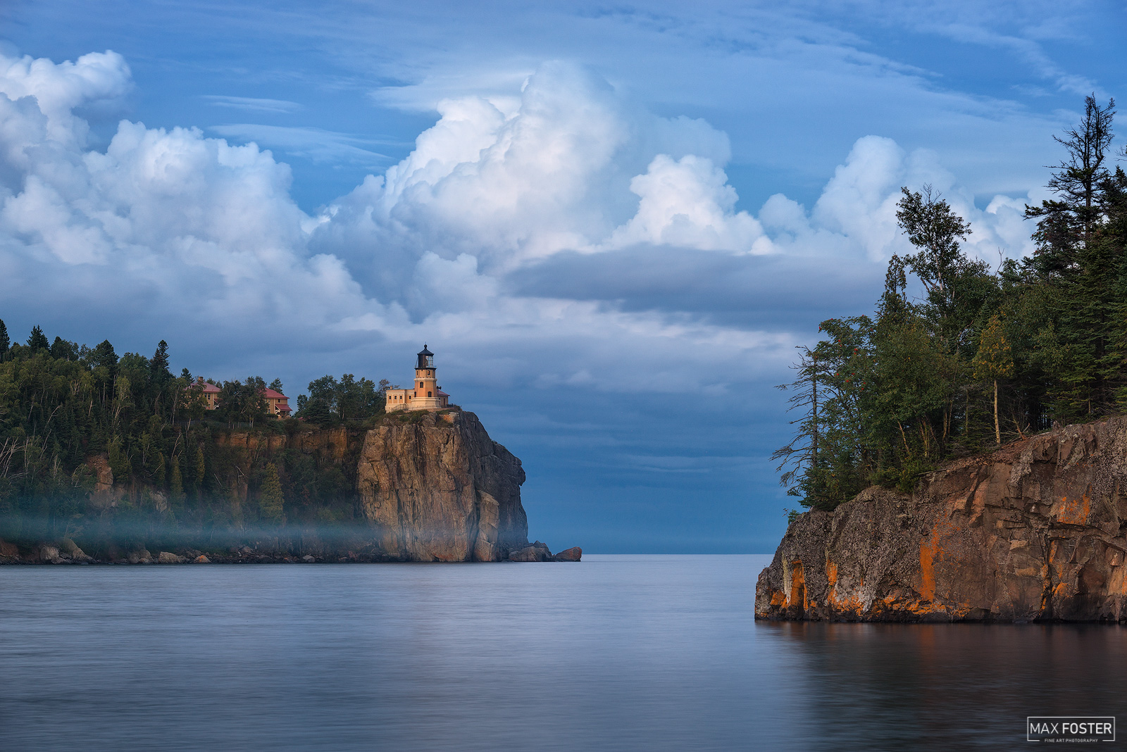Fine Art Limited Edition of 50 Split Rock Lighthouse is a lighthouse located southwest of Silver Bay, Minnesota, USA on the North...