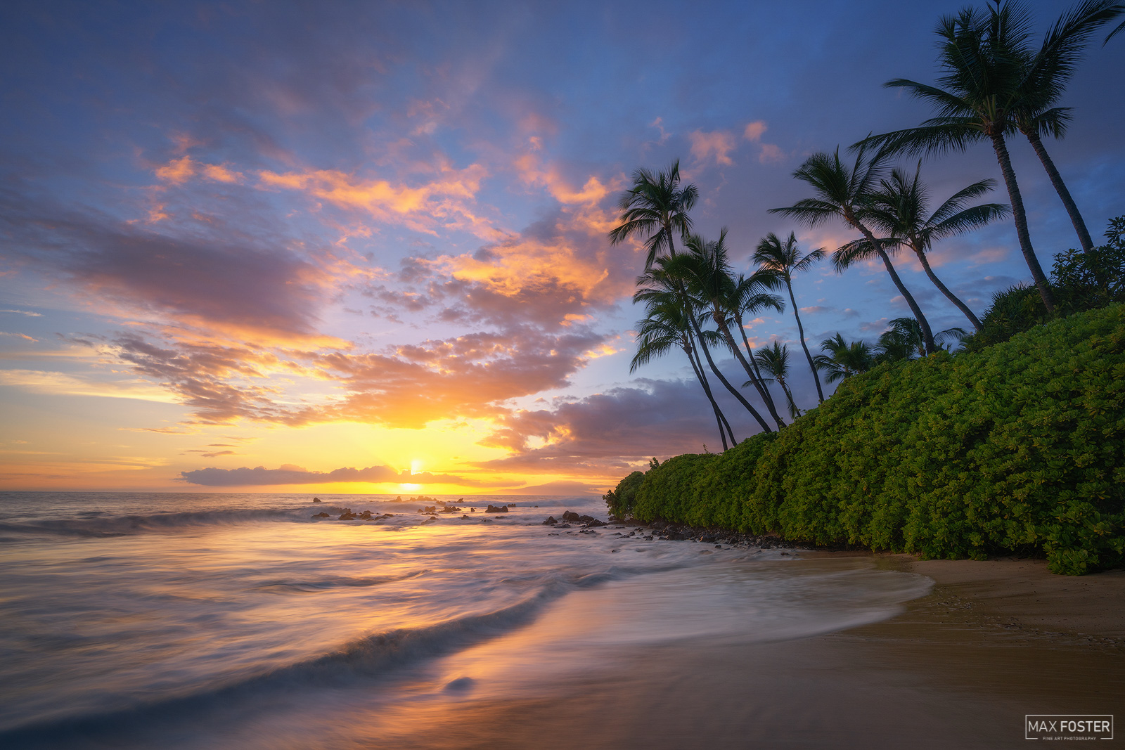 """Fine Art Limited Edition of 50 Wailea was originally a fishing settlement and its name translates to """"water of lea""""  the..."""