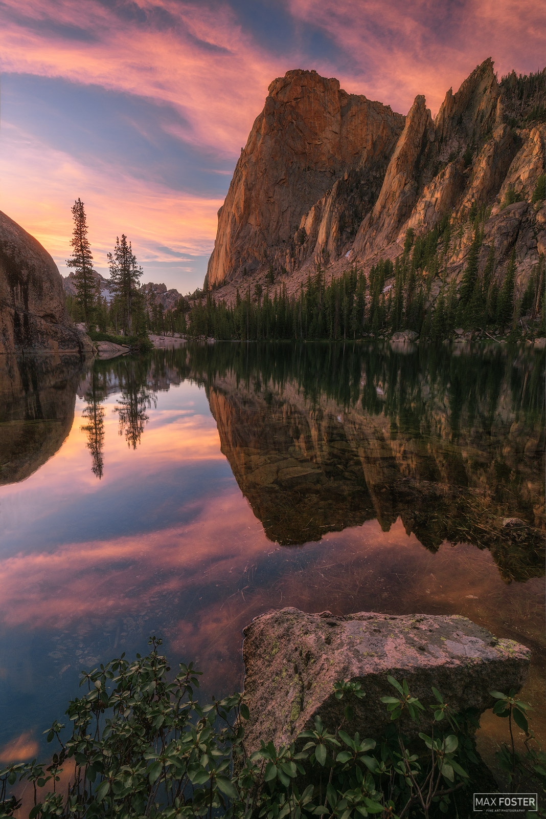 Sawtooth Wilderness, Idaho, Sawtooth Mountains, Sunset Solitude, photo