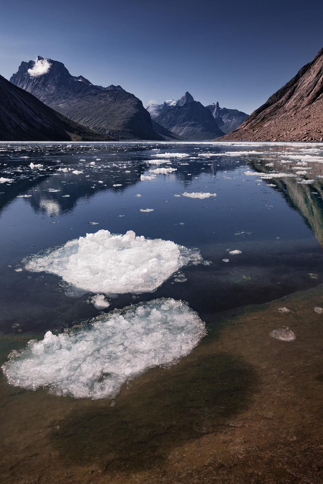 Tasermiut Glacier Ice