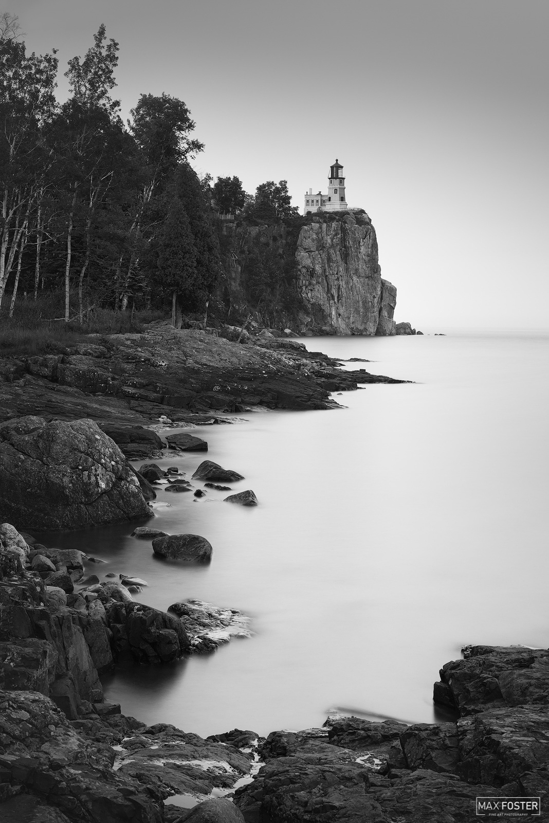 Fine Art Limited Edition of 50 Split Rock Lighthouse in Silver Bay, Minnesota was built in response to the great loss of ships...